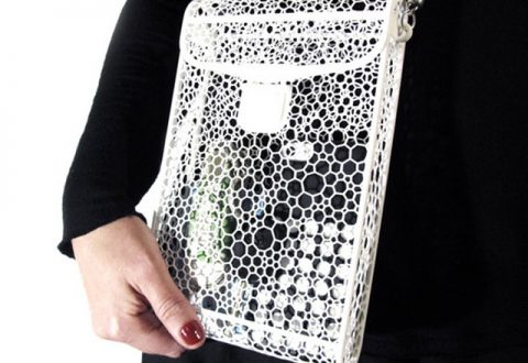 3D Printed Handbag - 3D Spectra Tech