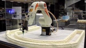 3d printing architecture and robotics