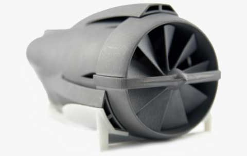 Jet engine model
